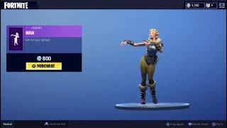 Fortnite hula dance glitch on item shop