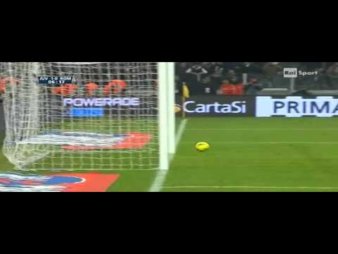 Juventus - Roma 3-0 (24.01.2012) Quarti, Coppa Italia