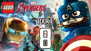 LEGO Marvel's Avengers Walkthrough PART 8 (PS4) Gameplay No Commentary @ 1080p HD ✔
