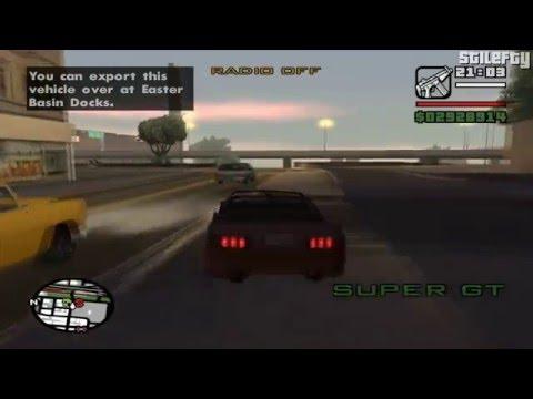 GTA San Andreas - Import/Export Vehicle #29 - Super GT