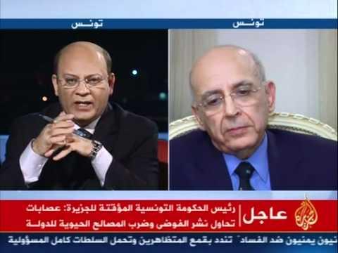 Tunisian prime minister Itw with Al Jazeera 26/02/2010