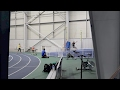 My track coach tries to pole vault!
