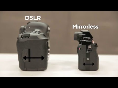 Understanding DSLR vs. Mirrorless Cameras