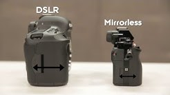 Understanding DSLR vs. Mirrorless Cameras