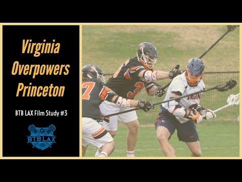 BTB LAX Film Study #3:  Virginia Overpowers Princeton