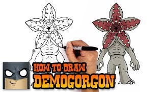 How to Draw Demogorgon | Stranger Things (Art Tutorial)