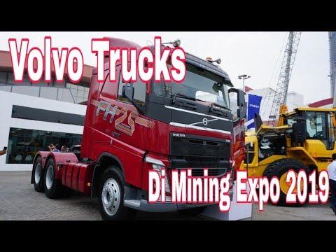 Volvo Trucks Di Indonesia Mining Expo 2019