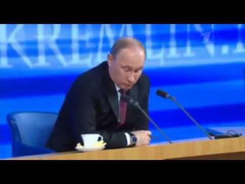 Женщина задала  вопрос Путину о Газпроме.