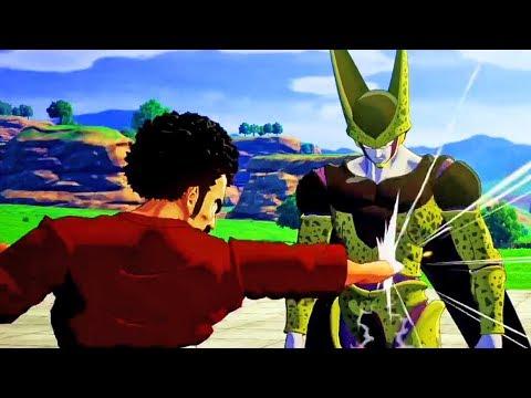 NEW Dragon Ball Z Kakarot - Mr Satan VS Cell Cutscene Gameplay