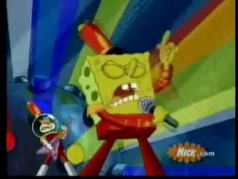 Spongebob nyanyi lagu Coklat-bendera ( Fery sf )