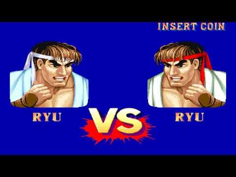 Street Fighter II' Hyper Fighting (Arcade 1CC Hardest Difficulty) - Ryu Playthrough