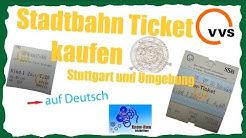 VVS Ticket kaufen - Deutsch