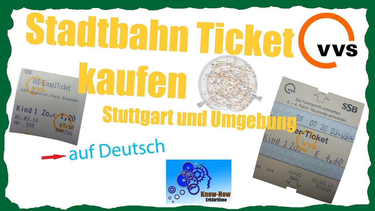 VVS Ticket kaufen - Deutsch - YouTube