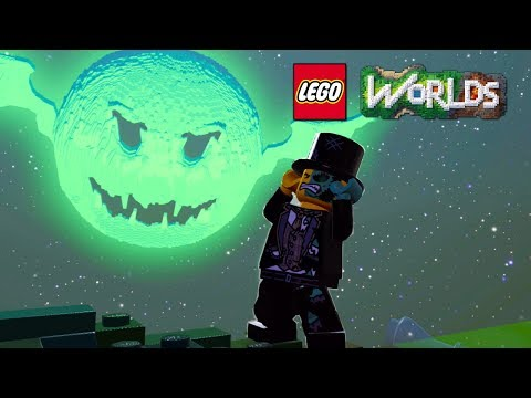 LEGO Worlds Monsters DLC Free Roam on Nintendo Switch