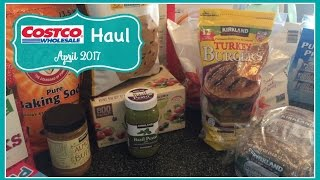 costco haul    april 2017