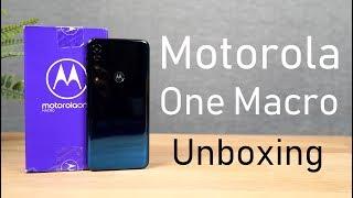 Motorola One Macro Unboxing, Specs, Price, Hands-on Review