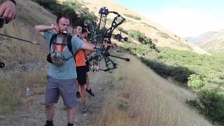 Sean Morgan and Justin Finch 3D Archery Shoot 2019 Course!