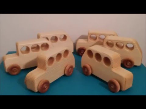 Making Wooden Bus