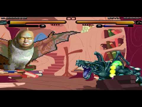 Mugen Random Battles: Bloodbane vs Devil Seaman