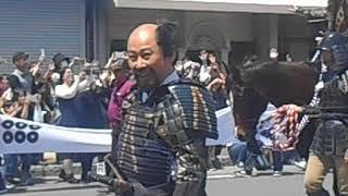 2018.4.29 上田真田まつり スペシャルパレード往路.