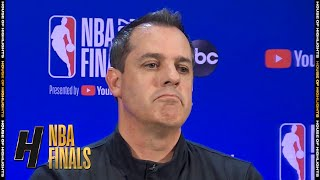 Frank Vogel Postgame Interview - Game 5 | Heat vs Lakers | October 9, 2020 NBA Finals