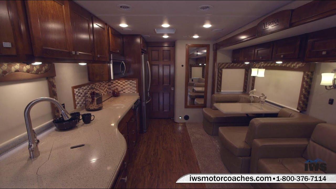 Iws Motor Coaches 2016 Verona Bunk Model Interior Merlot