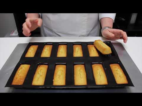 Chef Kirsten Tibballs makes a  orange financier with coffee chantilly cream