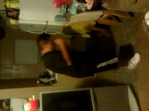 JB drunk and dancing