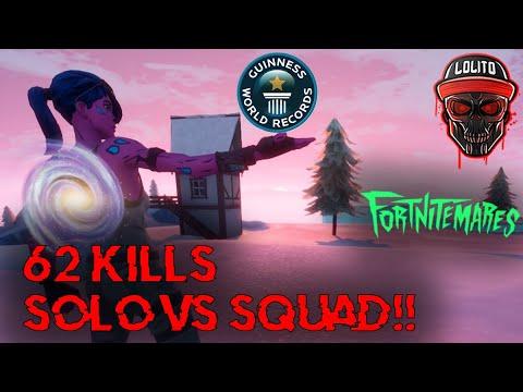 Kill Xp In Solo Vs Kill Xp In Squads Fortnite 62 Kills Lolito Hace El Record Mundial En Fortnite