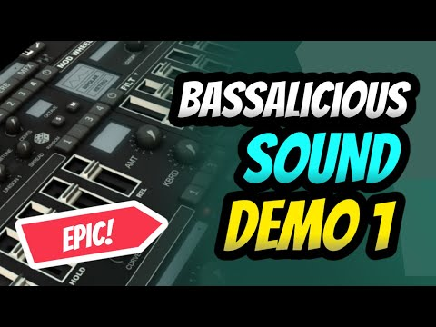 BASSalicious Synth Bass Plugin VST/AU/iPad