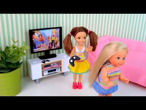 Новая Приставка или Уходи Зануда! Мультик #Барби Сериал Куклы Игрушки Айкукла тиви