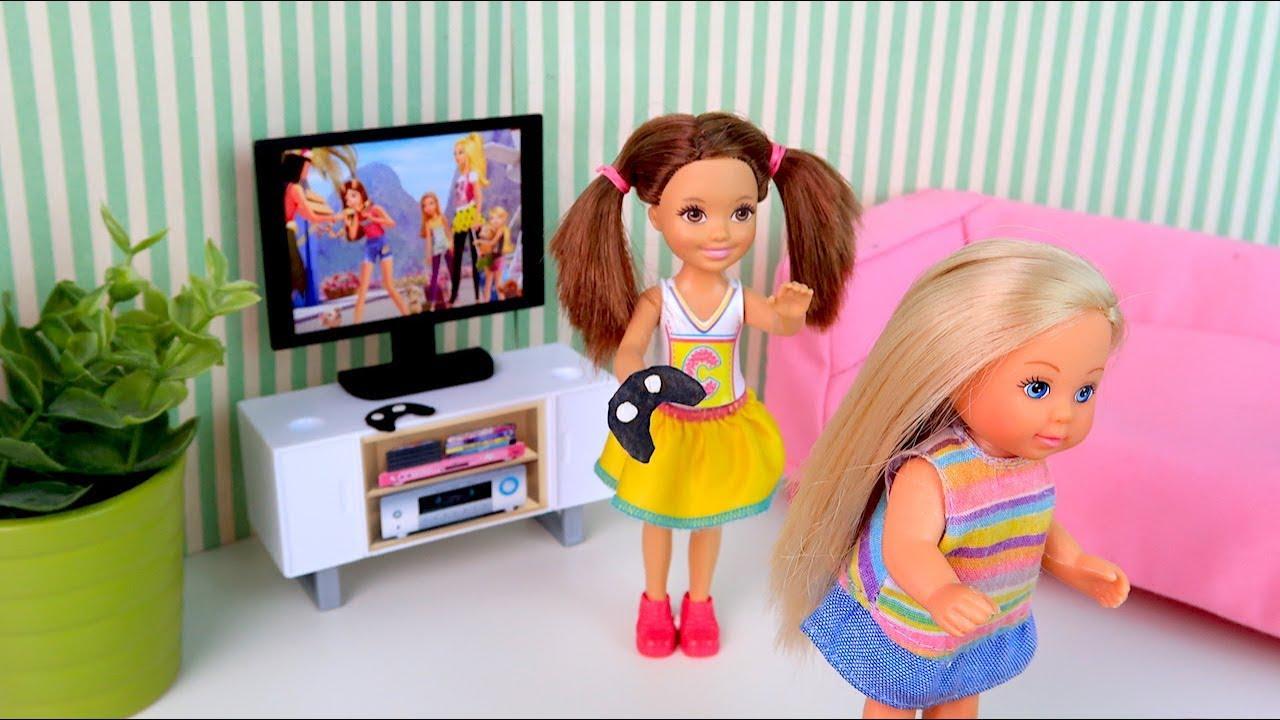 Новая Приставка или Уходи Зануда! Мультик #Барби Сериал ...