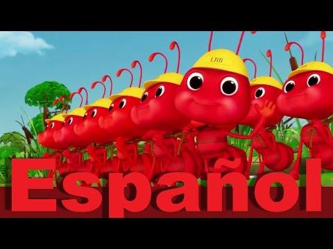 Las Hormigas Marchan De Una En Una   Canciones Infantiles   LittleBabyBum