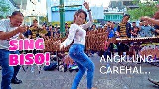 Download lagu Duh Serunya SING BISO - Goyang Dengan Musik Angklung Carehal Jogja emg Mantap