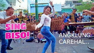 Download Video Duh Serunya SING BISO - Goyang Dengan Musik Angklung Carehal Jogja emg Mantap (Angklung Malioboro) MP3 3GP MP4