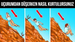 Yüksekten Düşüp Hayatta Kalmanın Yolları