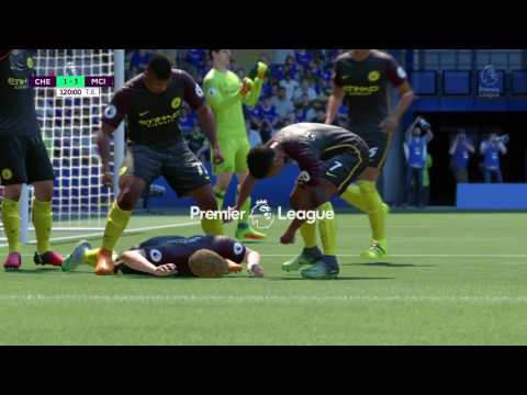 FIFA 17   Golaso de Escorpion Kevin De Bruyne   Chelsea vs Mancherter City
