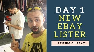 Listing LIVE With New eBay Lister