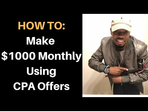 Make $1000/Month Online With Affiliate Marketing Consistently