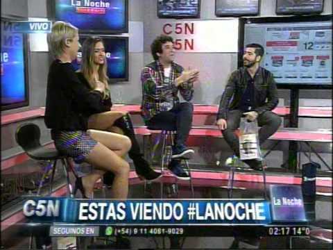 C5N - LA NOCHE: MARIELA FERNANDEZ Y NAZARENO CASERO