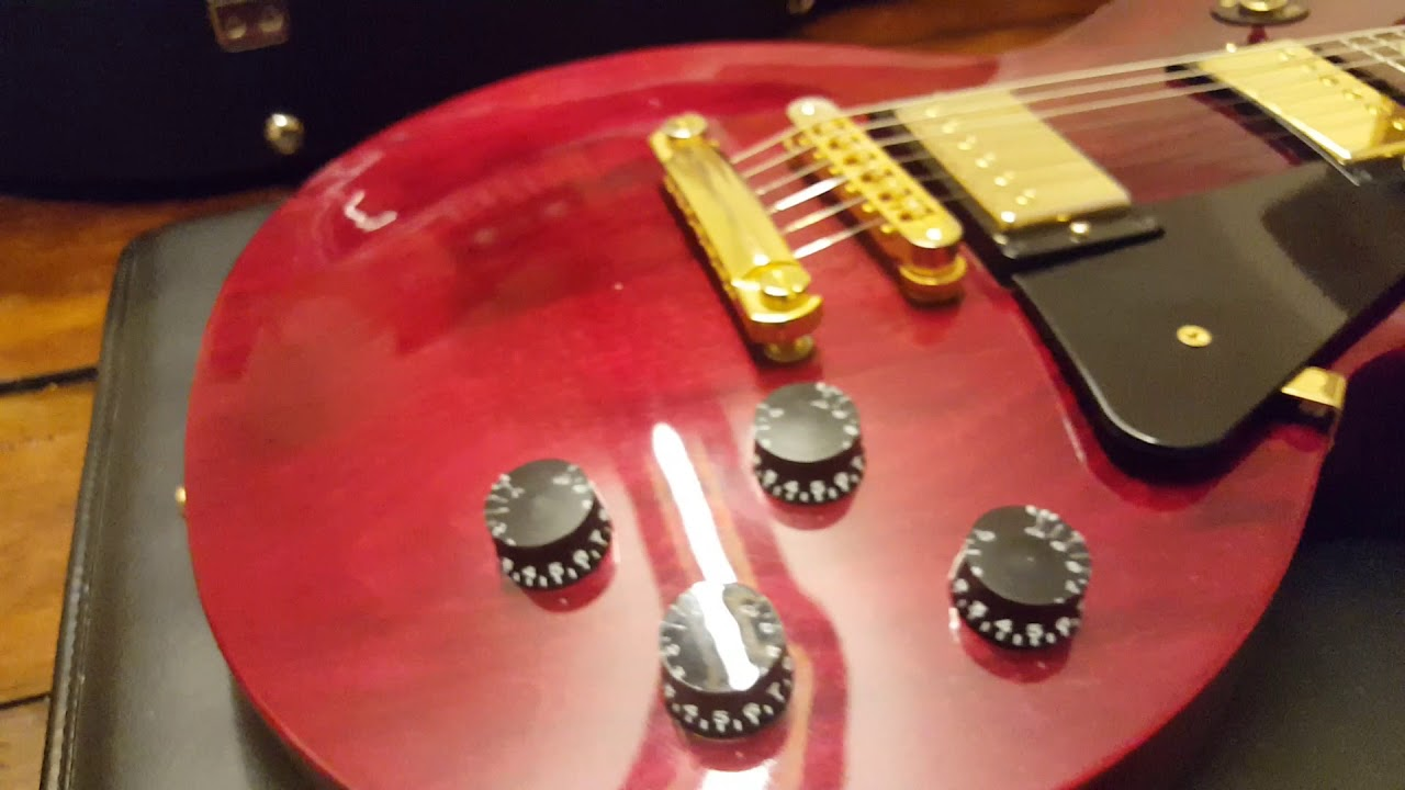 2011 Gibson Les Paul Studio Wine Red Gold Hardware Usa Guitar Up Close Video Review Youtube