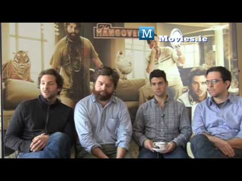 The Hangover - Cast Interviews, Bradley Cooper, Justin Bartha, Zacg Galifianakis Ed Helms