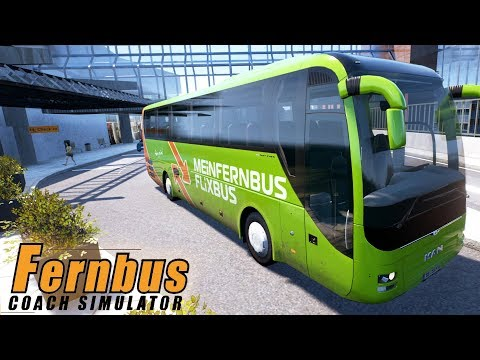 Fernbus Coach Simulator - 'Wing It Wednesday' - Simul8 Gaming (with Wheel Cam)