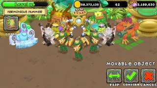 [My Singing Monsters] My gold island build