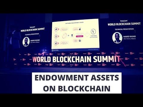 Endowment Assets on the Blockchain - FINTERRA - World Blockchain Summit Nairobi 2018