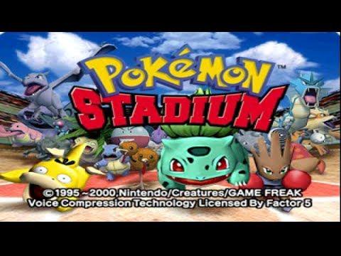 Nintendo 64 Longplay [057] Pokemon Stadium