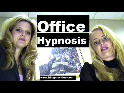 Office Hypnosis. What to do with hypnotized boss? Female Hypnotist spy