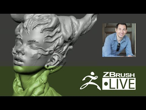 ZBrush 4R8 - Robert Vignone - Creating Characters for 3D Printing - Episode 6
