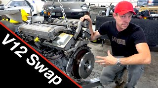 Engine swaps | #5 King Zero V12 supercar!