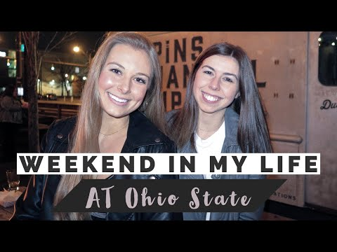 WEEKEND IN MY LIFE AT OHIO STATE